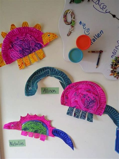 crafts with only paper dinosaur preschool dinosaur crafts and crafts