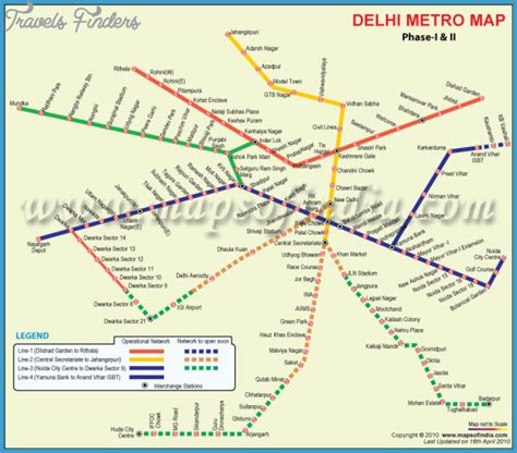 Delhi Metro Map Picture And Images