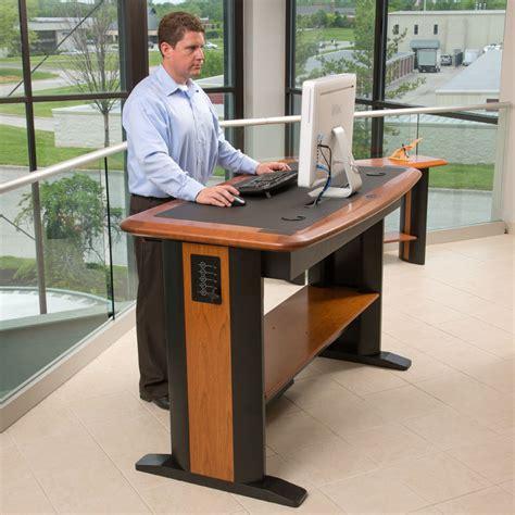 the office standing desk what is the best standing desk best adjustable desk