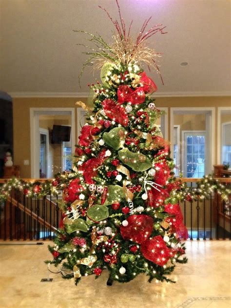 best colors for tree decorations 40 easy tree decorating ideas