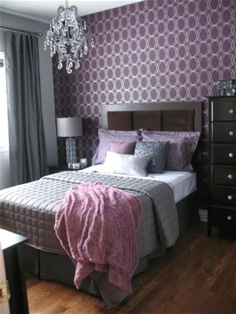 gray and purple bedroom purple and gray archives panda s house 1 interior