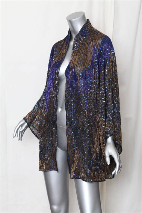 beaded evening jackets womens vintage beaded sequin evening blouse jacket
