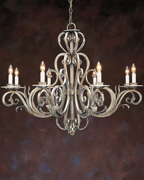 wrought iiron chandelier and wrought iron chandelier