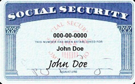 how to make a ssn card do not or your social security or government