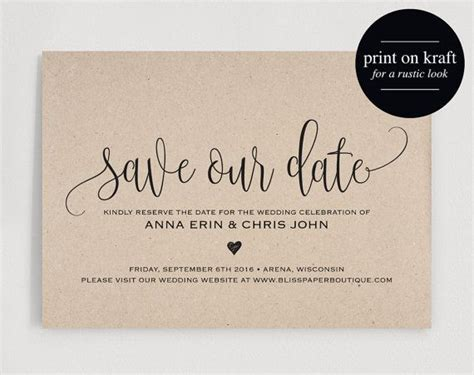 how to make a save the date card 25 best ideas about save the date templates on