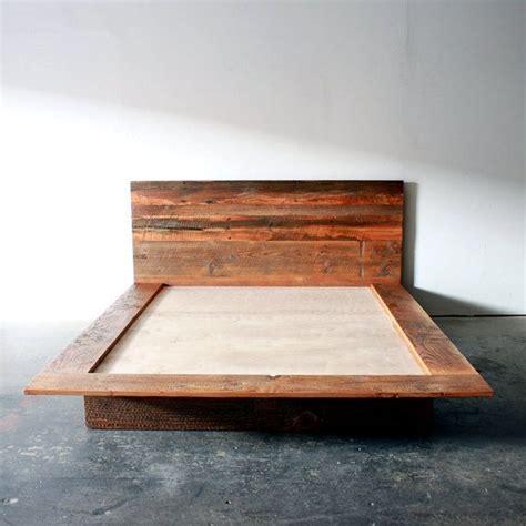 bed platform frame 25 best ideas about wood bed frames on bed