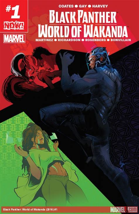 black panther world of wakanda 1 all comic