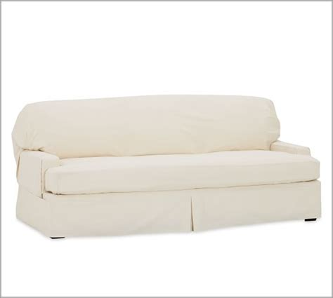 3 cushion sofa slipcover pottery barn twill separate seat tailored fit slipcover pottery