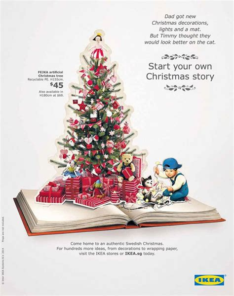 2014 tree decorations start your story with ikea trees