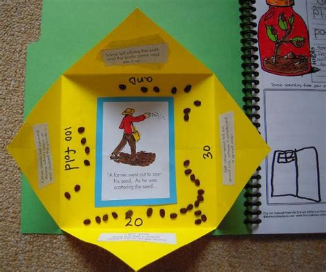 parable of the sower crafts for 1000 images about lapbook on wordless book