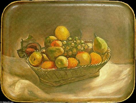 picasso paintings fruit fruit basket by pablo picasso 1881 1973 spain