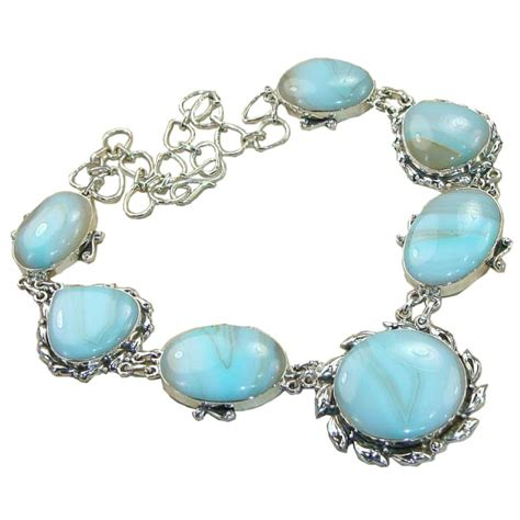stones and for jewelry aubri sterling silver larimar necklace 925 sterling