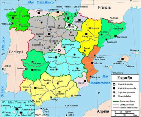 Geographie de L?Espagne , Les Cartes de L?Espagne   Location Espagne villas