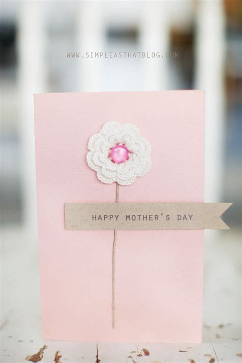 mothers day card ideas simple s day card ideas
