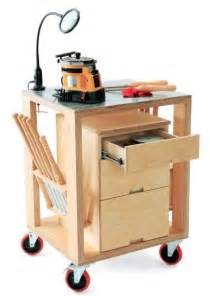 woodworking cart how to build a mobile tool storage and sharpening cart