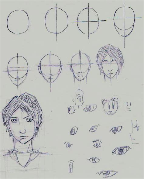 How To Draw Anime Guys
