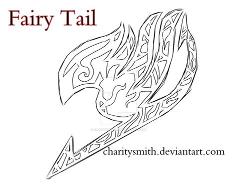 fairy tail tattoo design sketch by charitysmith on