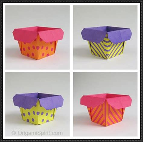 paper box crafts how to make a traditional origami box