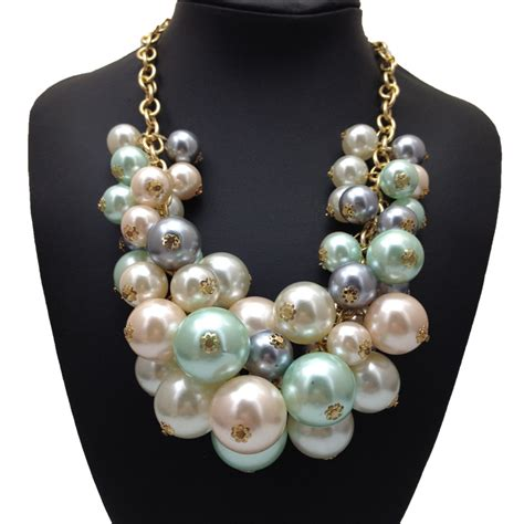 bead chain wholesale new design fashion pendant necklace multilayer bead chain