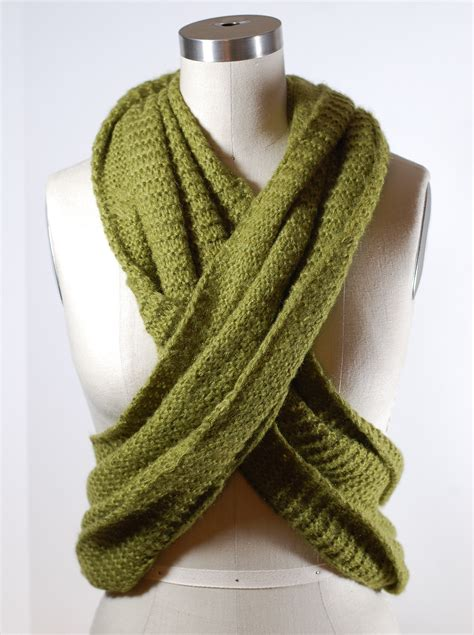 infinity scarf library how to make infinity scarf with a twist