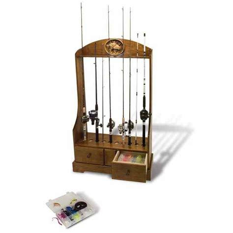 woodworking stand 28 148862 rod reel and tackle stand woodworking plan