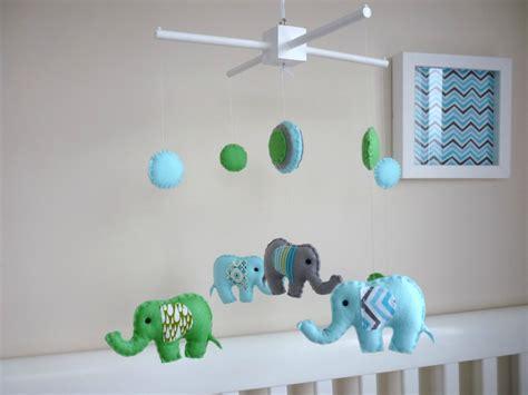 baby boy crib mobiles baby boy elephant mobile felt nursery baby mobile baby