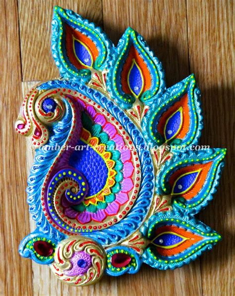 craft painting projects 79 best diya design images on diwali craft