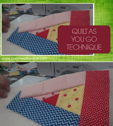 quilt as you go quilt as you go