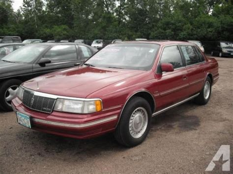 1989 lincoln continental information and photos momentcar