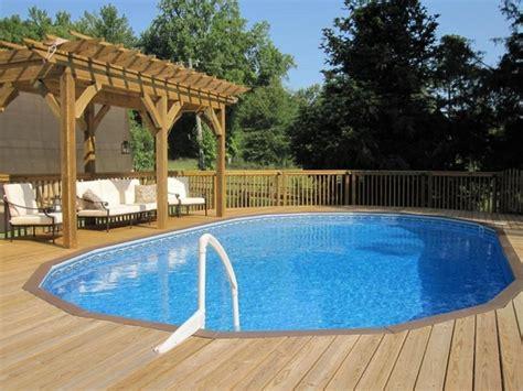pool pergola ideas cool above ground pools with decks modern backyard