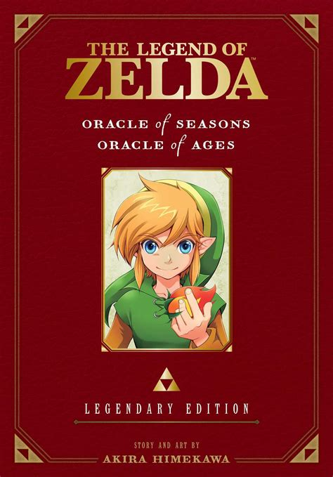 the legend of oracle of ages the legend of oracle of seasons oracle of ages