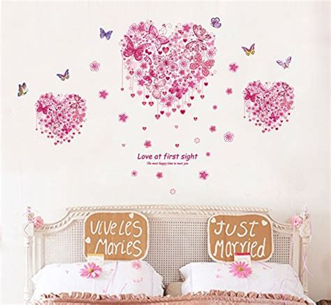 stickers chambre bebe fille papillon
