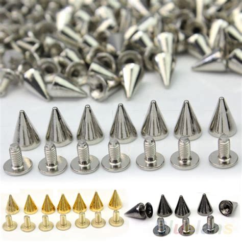 how to make metal sted jewelry popular 100 pcs 10mm fashion silver jewelry stud pots cone