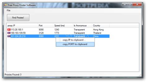free proxy free proxy finder software 1 2 incl serial