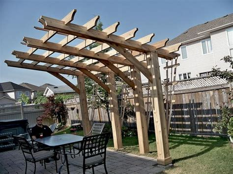 how to build a pergola on an existing deck cantilever pergola useful design to build an
