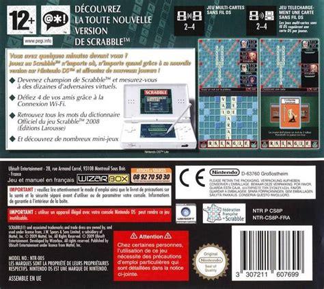 Scrabble For Nintendo Ds 171 New Battleship Demo