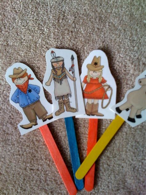 cowboy crafts for 1000 images about thema idianen on
