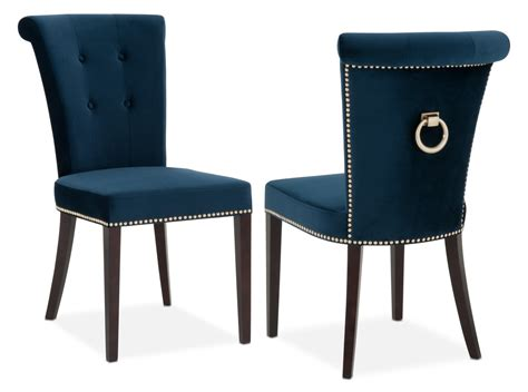 navy blue leather dining chairs navy dining room chairs and furniture ideas