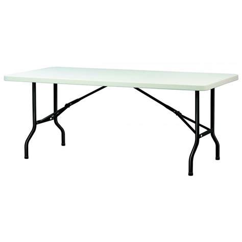 table en polypropyl 232 ne pliante table en polypropyl 232 ne rectangulaire dmc direct