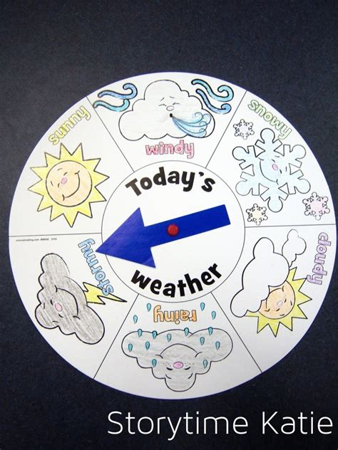 weather craft for weather storytime