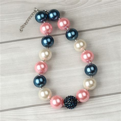 gumball bead necklace aliexpress buy 1pcs fashion 4th of july chunky