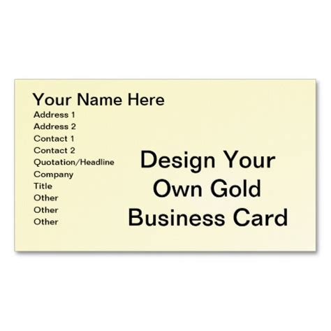 make own business cards free create your own business cards free 28 images 28 make