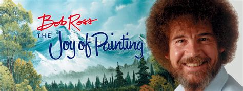 bob ross painting the universe 40 classic tv shows to with your right now