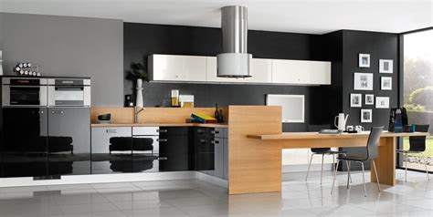 kitchen design contemporary black and white kitchen designs from mobalpa