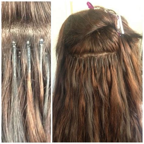 bead extentions best 25 micro bead hair extensions ideas on