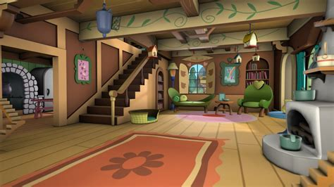 s living room fluttershy s cottage living room back by discopears on