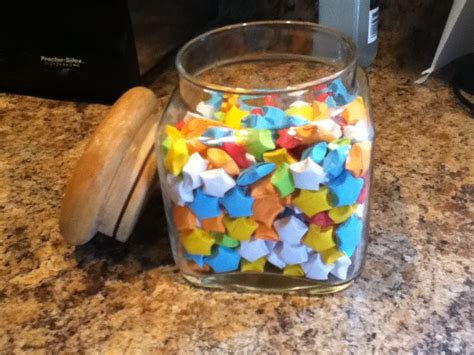 origami in a jar jar of assorted origami by wtfisit123 on