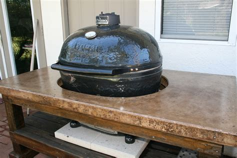 grill table plans primo grill table plans image mag