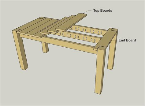 cedar patio table plans cedar patio table plans bryan s site the finished diy