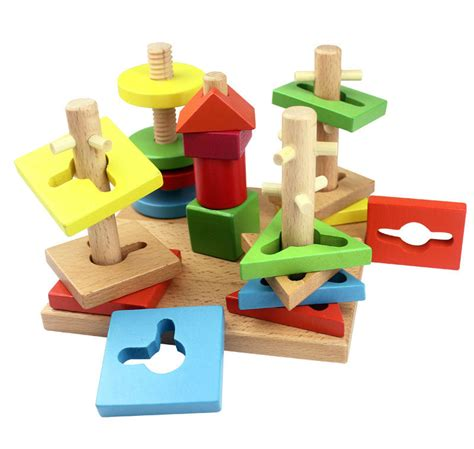 wooden for toddlers get cheap wooden blocks for aliexpress